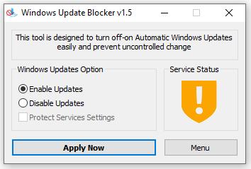 windows update blocker 1