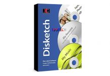 NCH Disketch Disc Label Software