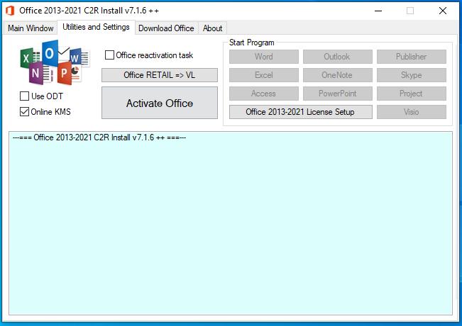 Office 2013-2019 C2R Install-2