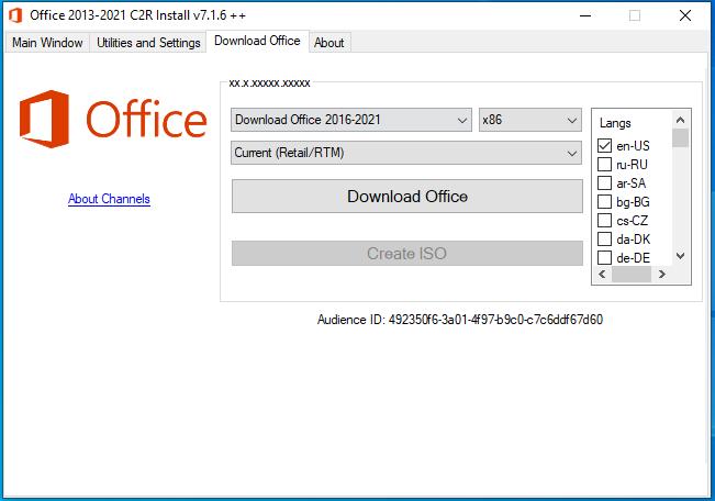 Office 2013-2019 C2R Install-3