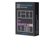 Kitchen Cabinet Generator